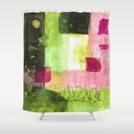 Daydreams of Spring - Enjoy Spring Blooms Shower Curtain