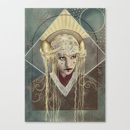 Queen Canvas Print