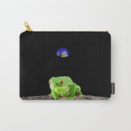 Moon Frog Carry-All Pouch