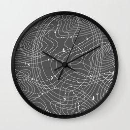 The Tangled Web Wall Clock