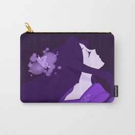 The Purple Butterfly KIMONO Carry-All Pouch