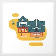 Kyoto icon Art Print