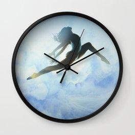 Dancer's Leap Wall Clock