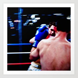 Fight : Eye of the Tiger Art Print