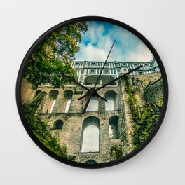 Cesky Krumlov gate Wall Clock