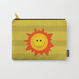 Smiling Happy Sun Carry-All Pouch