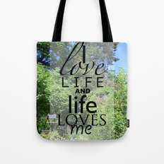 Life is just Tote Bag