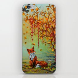 A Little Autumn Mood iPhone Skin
