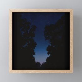 The Long Twilight Of Midsummer Nights Framed Mini Art Print