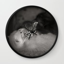 2 Weeks Old Wall Clock