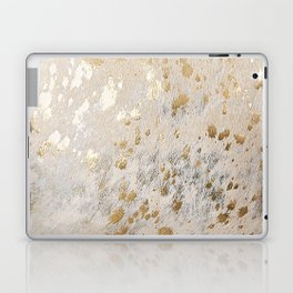 Gold Hide Print Metallic Laptop & iPad Skin