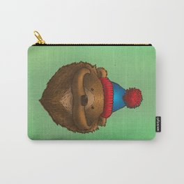 The Mustache Bear Carry-All Pouch