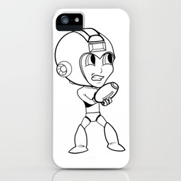 Megaman! iPhone Case