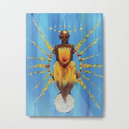 Clothed with the Sun, Crowned with Stars Metal Print