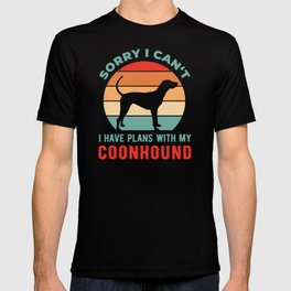 Funny Coonhound T-shirt