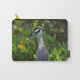 Yellow-crowned Night Heron II Carry-All Pouch