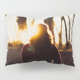 Sunset Silhouette Pillow Sham