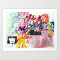 Freedom? Art Print
