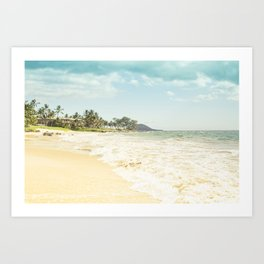 Polo Beach Maui Hawaii Art Print