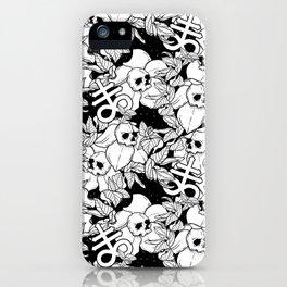 Flos Mortis iPhone Case