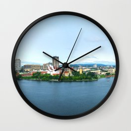 Ottawa 2 Wall Clock