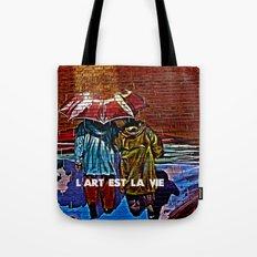 Art is life! Tote Bag