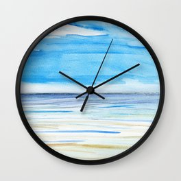 Changing weather Wall Clock