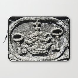 Ancient Church Carvings Laptop Sleeve