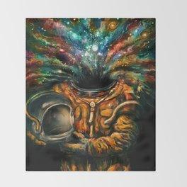 Inhale Throw Blanket