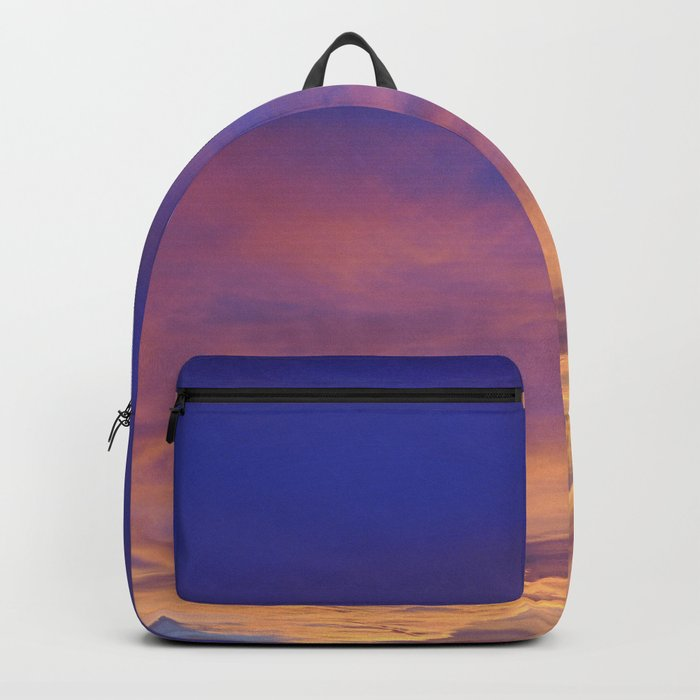 COME AWAY WITH ME - Autumn Sunset #1 #art #society6 Backpack
