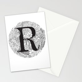 Succulent R Stationery Cards
