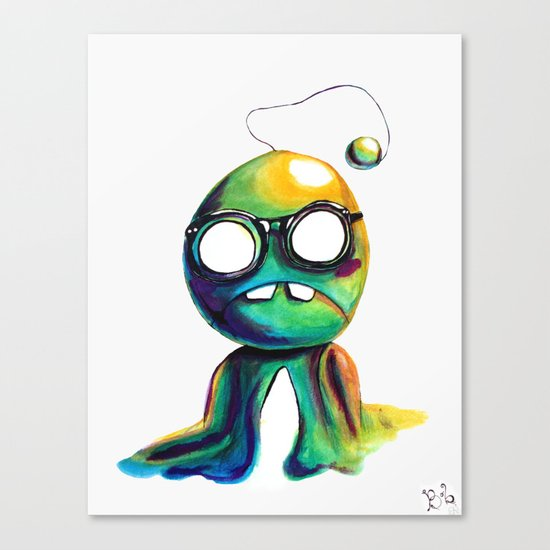 BOBsicle Canvas Print