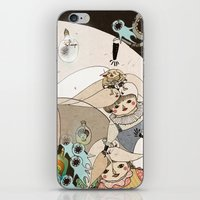 roald dahl iPhone & iPod Skins featuring Dream Catcher by Yoyo the Ricecorpse