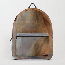 Laura Vandervoort portrait Backpack