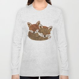 Shelter (Stacked Foxes) Long Sleeve T-shirt