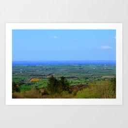 Ladies Brae Mountains Art Print