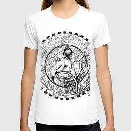 Bird and Rose Zendala T-shirt