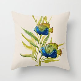 Fishes 2 Throw Pillow