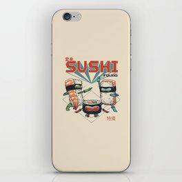Sushi Squad iPhone Skin