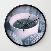 religious Wall Clocks featuring COLD  by UtArt