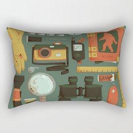 Cryptid Hunting Rectangular Pillow