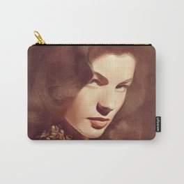 Lauren Bacall, Hollywood Legend Carry-All Pouch