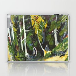 Ernst Ludwig Kirchner Forest Gorge at Staffel c1938 Laptop & iPad Skin
