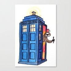 Dr Sloth  Canvas Print