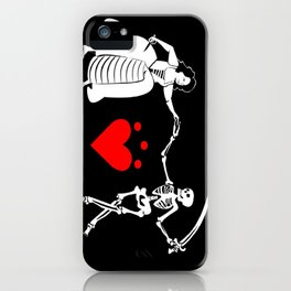 Pirate Queen Jacquotte Delahaye's Flag iPhone Case