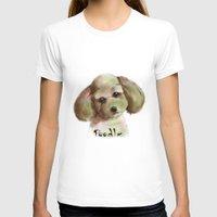 poodle T-shirts featuring Poodle by Det Tidkun