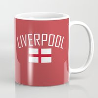 liverpool Mugs featuring Liverpool by Earl of Grey