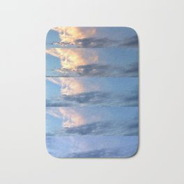 sunset progression Bath Mat