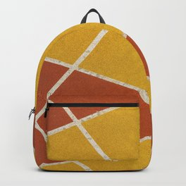 Geometric color shapes Backpack