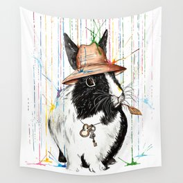 Oh Bunny Wall Tapestry